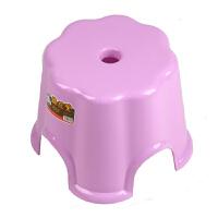 凳子 简约家用儿童防滑小板凳加厚浴室凳成人塑料矮凳满额减限时抢儿童家具