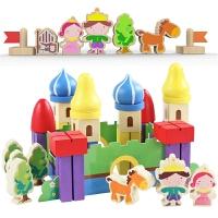 3-6周岁男孩儿童玩具木制女孩木头早教拼装积木