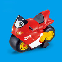 儿童音乐早教学爬玩具声光电动车