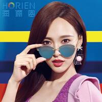 海俪恩太阳镜女款 时尚镀膜偏光太阳镜小脸N6330