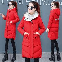 棉衣女装冬装韩版时尚中长款羽绒冬天加厚棉袄外套潮