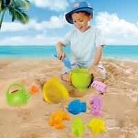 儿童沙滩玩具套装宝宝玩沙子决明子玩雪工具
