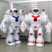 电动玩具儿童婴幼儿宝宝玩具电动射击机器人男孩