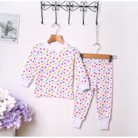 儿童保暖内衣套装棉加厚1-5岁宝宝秋衣秋裤套装男童女童棉毛衫7