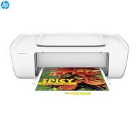 惠普(HP)DeskJet 1112 彩色黑白喷墨打印机照片打印家庭办公连供打印