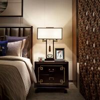 台灯现代简约禅意仿古床头卧室客厅灯创意书房酒店灯具