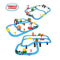 托马斯火车轨道玩具CGW29多多岛百变电动轨道海盗迷失宝藏CDV11