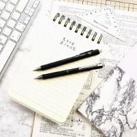 晨光文具中性笔MG-666学生办公用笔考试中性笔水笔速干按动式子弹头款碳素黑色12支0.5签字笔AGPH8401