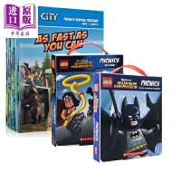 【中商原版】乐高DC角色语音+乐高城市故事语音套装 Lego Dc/ Phonics Boxed Set 乐高合集 亲子