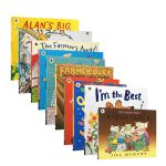 英文原版童书 i am the best farmer duck 等10本 动物经典绘本Animal Antics儿童