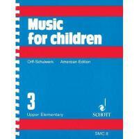 【预订】Music for Children, Upper Elementary, Volume 3