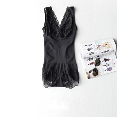 蕾丝无痕塑身衣连体产后束腰收腹提臀背心紧身美体内衣女薄款 发货周期:一般在付款后2-90天左右发货,具体发货时间请以与客服协商的时间为准