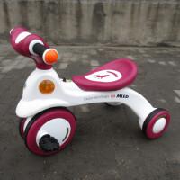 儿童三轮车小孩脚踏车玩具车婴儿车自行车儿童车子 F01 酒红色