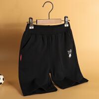 木木屋儿童裤子2021新款夏季中大童男童透气洋气可爱印花短裤夏装