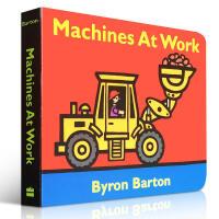 Machines at Work 纸板书 儿童启蒙英文原版绘本 育儿0至3岁