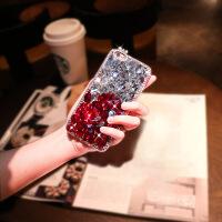 苹果6手机壳iPhone6套7plus女硅胶i7带钻8p
