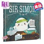 【中商原版】Cale Atkinson:超级吓人的西蒙爵士 Sir Simon: Super Scarer 绘本故事书