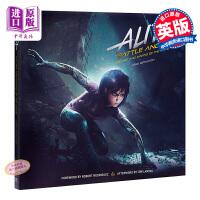 阿丽塔:战斗天使电影设定集 英文原版 Alita: Battle Angel Art of Movie铳梦 卡梅隆2018科幻力作 电影精装画册
