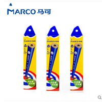 马可Marco铅笔原木书写HB/2B铅笔学生三角铅笔9002