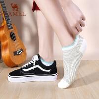 骆驼非纯棉女士袜子韩国可爱短袜低帮船袜夏季薄款浅口隐形女袜潮