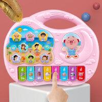 婴幼儿启蒙称呼学叫爸爸妈妈婴儿电子琴宝宝早教女孩儿童钢琴玩具