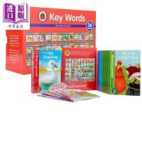 【中商原版】Ladybird Books 快乐瓢虫分级读物86册 Key Words/Read it Yourself