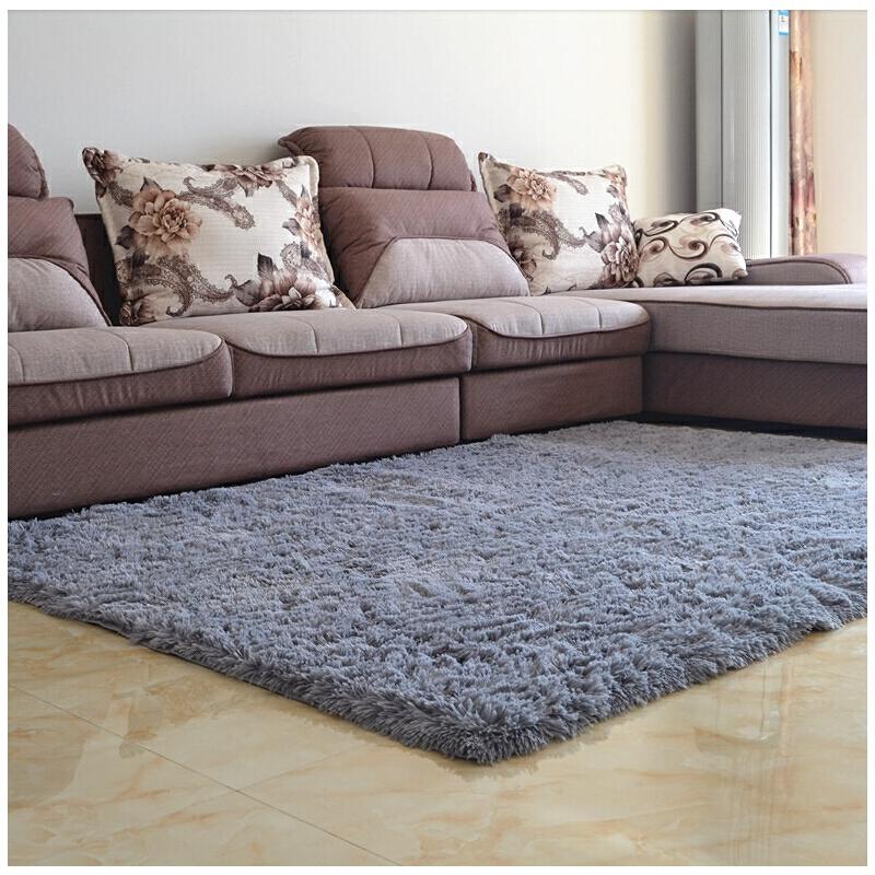 简约地毯现代客厅沙发茶几地毯时尚卧室满铺地毯