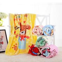 婴儿新生儿毛毯礼盒装童毯宝宝双层毯子床单