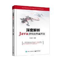 深度解析Java游戏服务器开发 何金成著 电子工业出版社 9787121301421