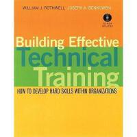 【预订】Building Effective Technical Training: How To