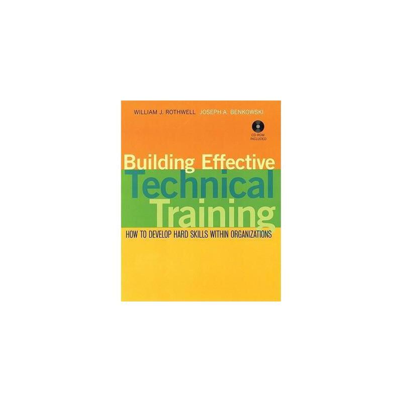 【预订】Building Effective Technical Training: How To 美国库房发货,通常付款后3-5周到货!