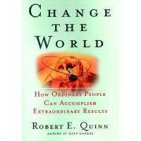【预订】Change The World: How Ordinary People Can Achieve