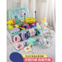 玩具男孩女孩宝宝3-6-12个月40-1岁8牙胶手摇铃