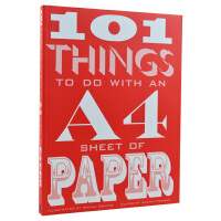 101 Things to do With A4 Sheet of Paper 101个A4纸设计方案 手工DIY折纸 纸艺术设计书籍