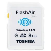 TOSHIBA/东芝 FlashAir 无线局域网嵌入式 SDHC 8G 存储卡wifi class10 相机卡 内存卡