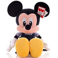 米奇公仔毛绒玩具布娃娃米妮毛绒玩具情侣一对儿童礼物女孩儿童节礼物 长亿(米奇公仔)