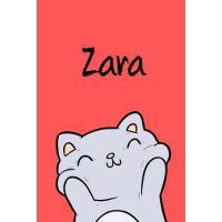【预订】Zara: DIN A5 - Blanko 110 Seiten - Mein Malbuch - Perso