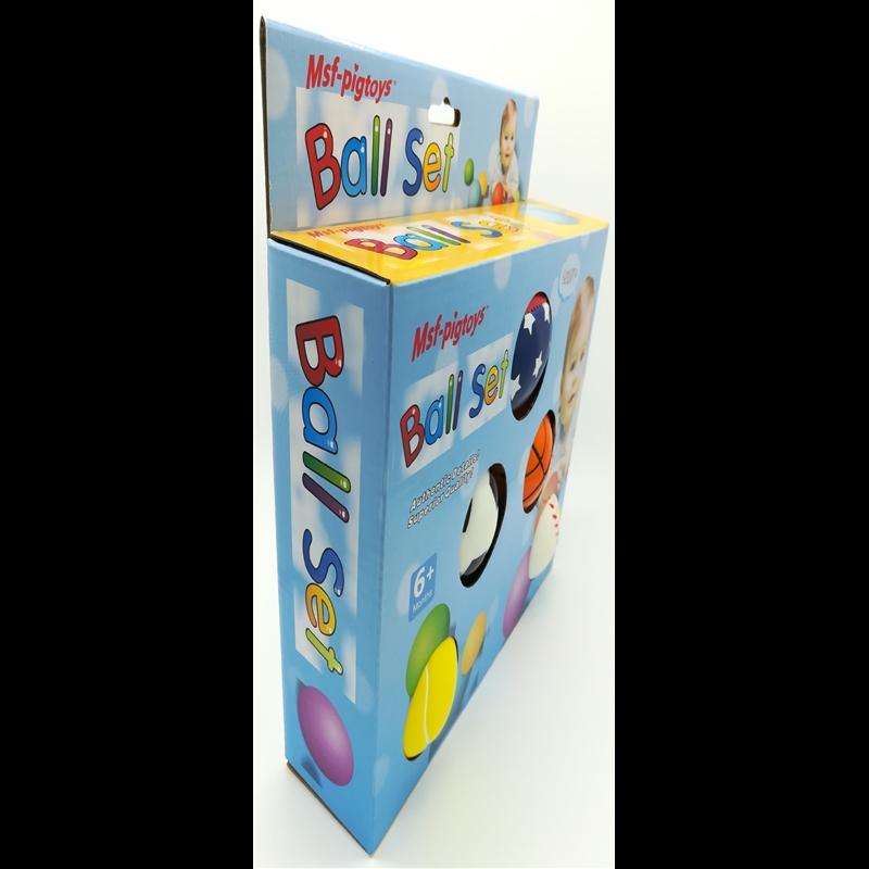 小皮球儿童篮球幼儿专用皮球拍拍球幼儿园婴儿宝宝球类玩具5个装