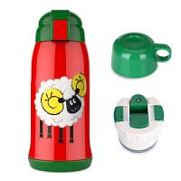 儿童保温杯带吸管两用fang摔宝宝水杯幼儿园小学生便携水壶