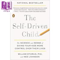 【中商原版】做个自律的孩子:让你的孩子更多地控制他们生活的科学和感觉The Self-Driven Child 教育理