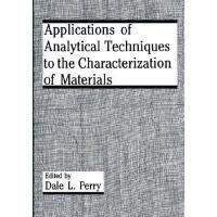 【预订】Applications of Analytical Techniques to the