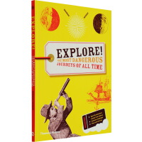 Explore!The most dangerous journeys of all time 艺术科普书 儿童启蒙图
