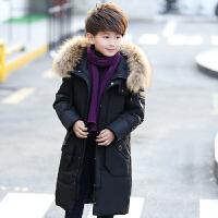 儿童羽绒服男孩子冬季男童中长款中大童韩版保暖外套