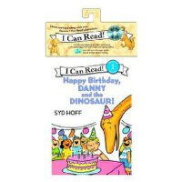英文原版儿童图书 Happy Birthday, Danny and the Dinosaur! Book and CD生日快乐,丹尼与恐龙(书 CD) 汪培�E  有声读物