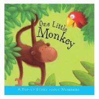 英文原版 Pop-up Stories - One Little Monkey 儿童立体书