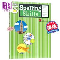 【中商原版】Flash Kids拼写技能六年级英文原版Spelling Skills Grade 6 辅导练习册