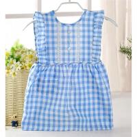 画画衣儿童罩衣婴儿裙女宝宝反穿衣吃饭衣围裙围兜