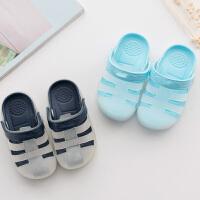 洞洞鞋儿童拖鞋夏4男1-3岁防滑婴幼儿宝宝拖鞋女童凉拖鞋小孩拖鞋