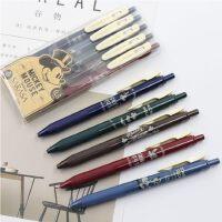 限定款日本ZEBRA斑马JJ15复古色中性笔暗色SARASA按动水笔0.5斑马旗舰店官网迪士尼米奇彩色复古中性笔文具