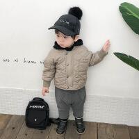 宝宝棉袄2018冬装新款婴儿加厚保暖棉衣韩版儿童男小童外套潮